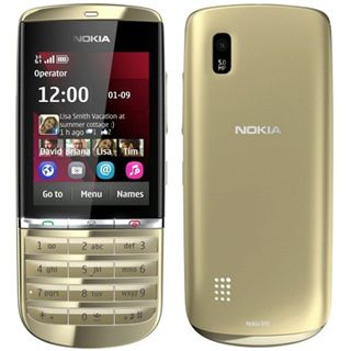 Nokia Asha 300 light-gold