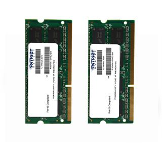 16GB Patriot Mac Series DDR3-1333 SO-DIMM CL9 Dual Kit