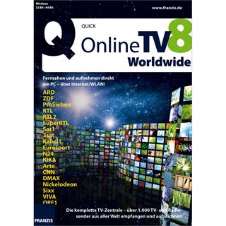 Franzis Online TV Worldwide 32/64 Bit Deutsch Tool Retail (CD)