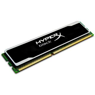 8GB Kingston HyperX Black DDR3-1600 DIMM CL10 Single