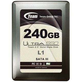 "240GB TeamGroup Ultra L1 Serie 2.5"" (6.4cm) SATA 6Gb/s MLC asynchron (T253L1240GMC101)"