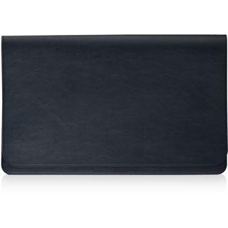 Samsung Serie 9 Leder Hülle silber für Notebook bis