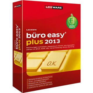 Lexware Buero Easy Plus 2013 Ver. 8.0 32/64 Bit Deutsch Office Update PC (DVD)
