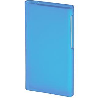 Hama MP3-Cover Smart Case für iPod nano 7G, Transparent/Blau