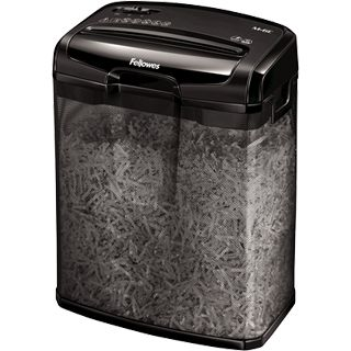 Fellowes Aktenvernichter Powershred M-6C (Cross Cut) schwarz
