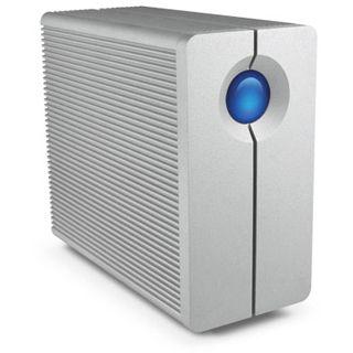 """4000GB LaCie 2big 9000359 3.5"""" (8.9cm) Thunderbolt silber Alu"""