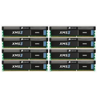 64GB Corsair XMS3 DDR3-1600 DIMM CL11 Octa Kit