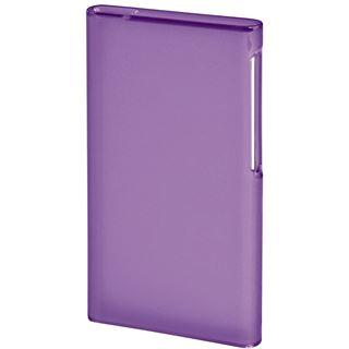 Hama MP3-Cover Smart Case für iPod nano 7G, Transparent/Violett