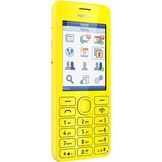 Nokia 206 Dual SIM 64 MB gelb
