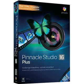 Pinnacle Studio 16.0 Plus 32/64 Bit Deutsch Grafik Update PC (DVD)