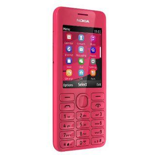 Nokia 206 64 MB fuchsia