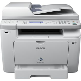 Epson WorkForce AL-MX200DWF S/W Laser Drucken/Scannen/Kopieren/Faxen LAN/USB 2.0