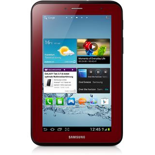 "7.0"" (17,78cm) Samsung Galaxy Tab 2 7.0 3G/WiFi/Bluetooth V3.0 16GB rot"