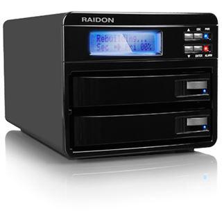 "Raidon GR3630-WSB3 3.5"" (8,89cm) eSATA/FireWire 800/USB 3.0"