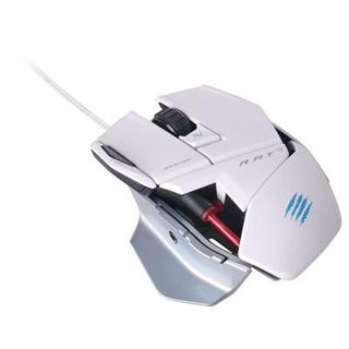 Mad Catz R.A.T 3 Gaming Mouse USB weiß (kabelgebunden)