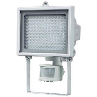 Brennenstuhl LED-Wandstrahler L130PIR IP44, weiss mit