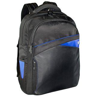 "V7 Edge BACKPACK 17.3"" (43,94cm) schwarz/blau"