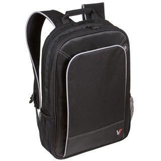 """V7 Professional Backpack 16"""" (40,46cm) schwarz"""