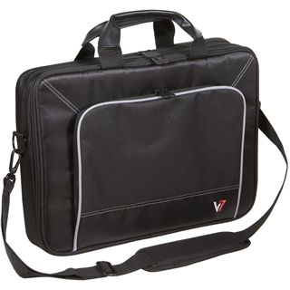 """V7 Professional TopLoader 16"""" (40,46cm) schwarz"""