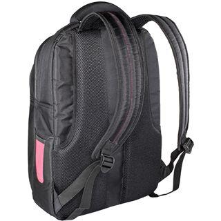 """V7 Edge Backpack 17.3"""" (43,94cm) schwarz/rot"""