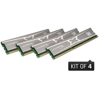 32GB Kingston HyperX 10th Year Anniversary Edition DDR3-1600 DIMM CL9 Quad Kit