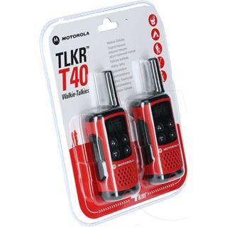 Motorola PMR Twinpack TLKR T40 PMR Handfunkg. bis 4 km Reichw.