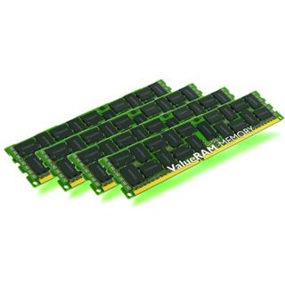 64GB Kingston ValueRAM Intel DDR3-1600 regECC DIMM CL11 Quad Kit