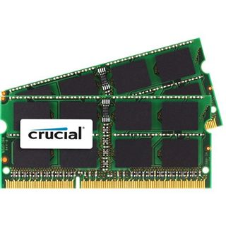 16GB Crucial Mac Memory DDR3L-1066 SO-DIMM CL9 Dual Kit