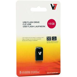 8 GB V7 USB-Stick schwarz USB 2.0