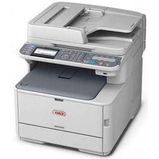 OKI MC332dn Farblaser Drucken/Scannen/Kopieren LAN/USB 2.0