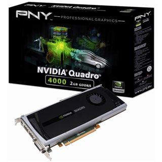 3GB PNY Quadro K4000 Aktiv PCIe 2.0 x16 (Retail)