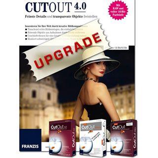 Franzis CutOut 4.0 32/64 Bit Deutsch Grafik Update PC/Mac (CD)