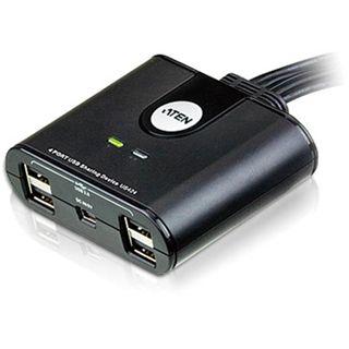 ATEN Technology US424 4-fach USB 2.0 Peripheriegeräte Swicth