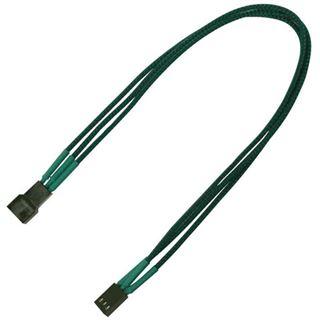 Nanoxia 30 cm grünes Verlängerungskabel für 3-Pin
