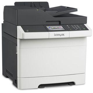 Lexmark CX410de Farblaser Drucken/Scannen/Kopieren/Faxen LAN/USB 2.0