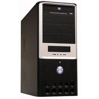 LC-Power 7005B Midi Tower ohne Netzteil schwarz