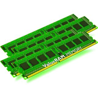 64GB Kingston ValueRAM HP DDR3-1600 regECC DIMM CL9 Quad Kit