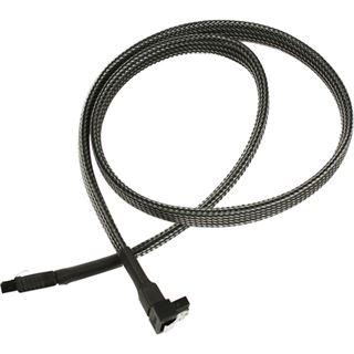 Nanoxia 60 cm carbon Kabel für SATA 3.0 (NXS6G6C)