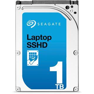"""1000GB Seagate Laptop SSHD ST1000LM014 64MB 2.5"""" (6.4cm) SATA 6Gb/s"""