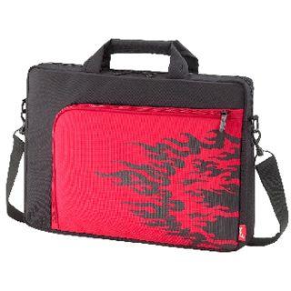 """Genius Notebooktasche für bis zu 15,6"""" Notebooks schwarz/rot"""