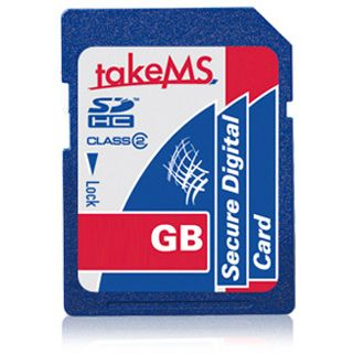 16 GB takeMS Secure Digital SDHC Class 6 Retail