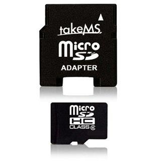 16 GB takeMS microSDHC Class 10 Retail inkl. Adapter