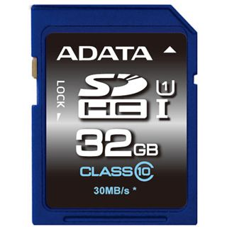 32 GB ADATA UHS-I SDHC Class 10 Retail