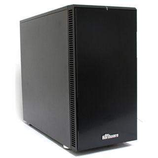 Fractal Design Define R4 PCGH-Edition gedämmt Midi Tower ohne Netzteil schwarz
