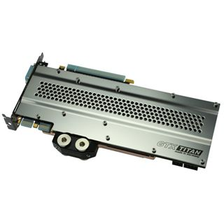 Watercool Heatkiller GTX Titan Backplate für NVIDIA GTX Titan,