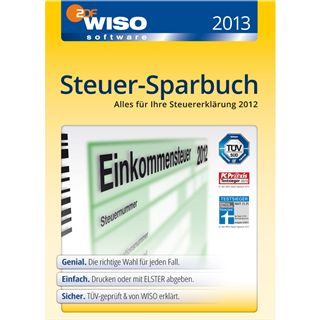 Buhl Data Service WISO Steuer-Sparbuch 2013 32/64 Bit Deutsch Office FPP PC (DVD)