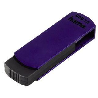 32 GB Hama Flecto schwarz/lila USB 3.0