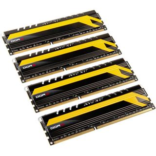 16GB Avexir Core Series MPOWER Edition rote LED DDR3-2666 DIMM CL11