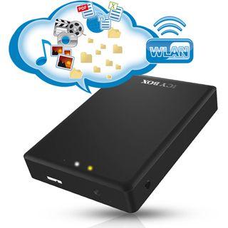 """ICY BOX IB-WF200HD 2.5"""" (6,35cm) USB 3.0/WLAN schwarz"""