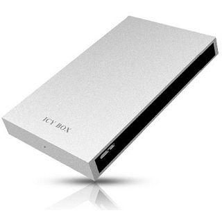 "ICY BOX IB-240StU3 2.5"" (6,35cm) USB 3.0 silber"